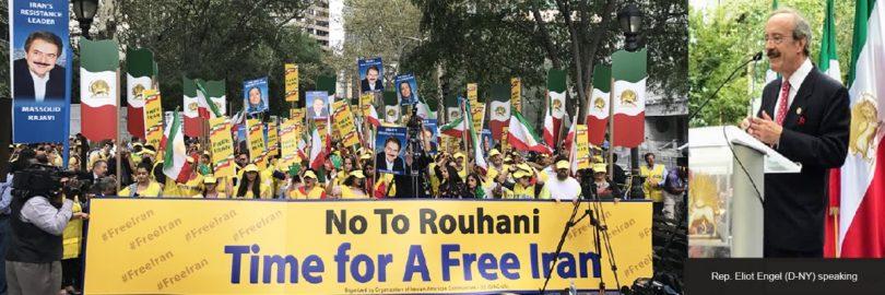 #No2Rouhani Massive Rally in NY