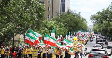 Thousands Rally for Regime Change in Iran