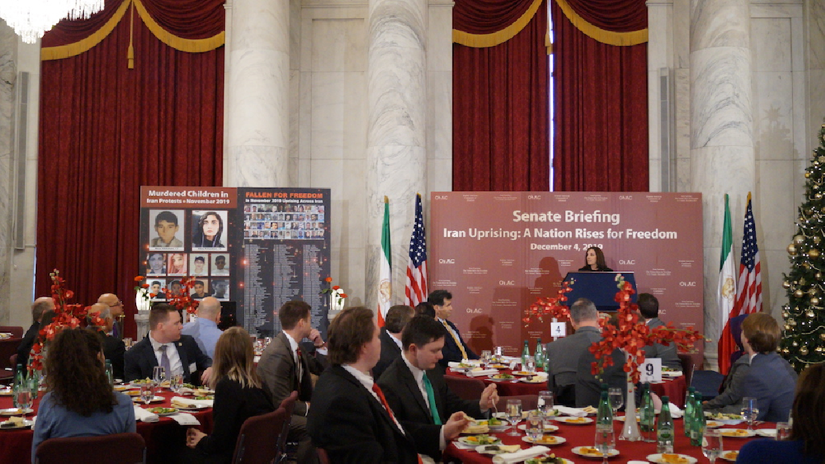 Senate policy briefing called for recognition of the alternative to the Iranian regime